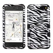 Insten Zebra Skin/Black TUFF Hybrid Rugged Hard Shockproof Phone Case For Amazon Fire Phone