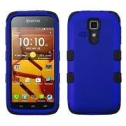Insten Dark Blue/Black TUFF Hybrid Cover Case Protector For Kyocera Hydro Life C6530 Icon 6730