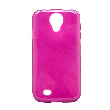 Insten Rubber Cover Case For Samsung Galaxy S4 - Hot Pink