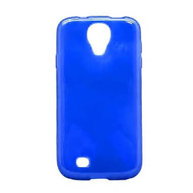 Insten TPU Cover Case For Samsung Galaxy S4 - Blue
