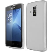 Insten Frosted Rubber Cover Case For Coolpad Rogue - Clear