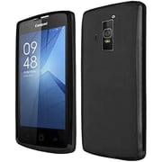 Insten Frosted TPU Cover Case For Coolpad Rogue - Black