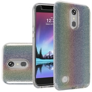 Insten Hybrid Clear Hard PC/TPU Dual Layer Protective Cover Case For LG K20 Plus / K20 V - Colorful