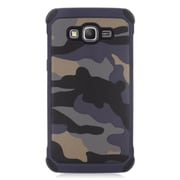 Insten Camouflage Hard Dual Layer Hybrid Case For Samsung Galaxy Grand Prime - Gray