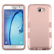Insten TUFF Hybrid Dual Layer Protective Case [Military-Grade] For Samsung Galaxy On7 (2016) - Rose Gold/Rose Gold