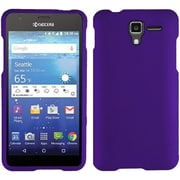 Insten Hard Rubber Coated Cover Case For Kyocera Hydro View - Purple