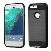 Insten Hard Hybrid TPU Case For Google Pixel XL - Black