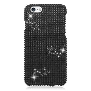 Insten Hard Diamond Case For Apple iPhone 6 / 6s - Black