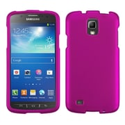 Insten Hard Rubber Coated Case For Samsung Galaxy S4 Active - Hot Pink
