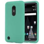 Insten Rugged Rubber Case For LG Aristo / LV3 - Teal