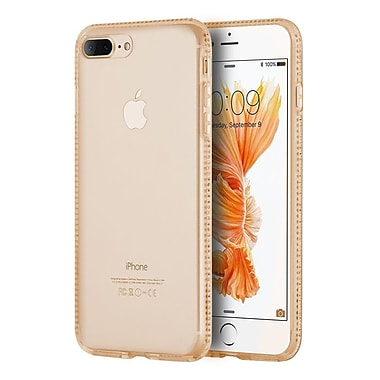 Insten Gel Case w/Diamond For Apple iPhone 7 Plus - Gold