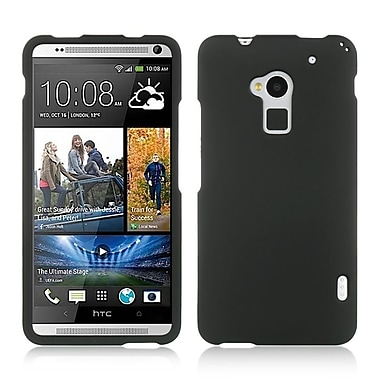 Insten Hard Rubberized Case For HTC One Max - Black