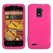 Insten Gel Rubber Case For ZTE Warp LTE - Pink