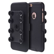 Insten Octopus Suction Holster Combo - Black For Apple iPhone 6s Plus / 6 Plus