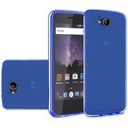 Insten Frosted TPU Cover Case For ZTE Tempo - Blue