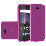 Insten Frosted TPU Case For ZTE Tempo - Hot Pink