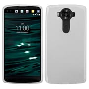 Insten TPU Rubber Silicone Skin Case For LG V10 - Clear