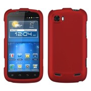 Insten Hard Rubber Cover Case For ZTE Grand X - Red