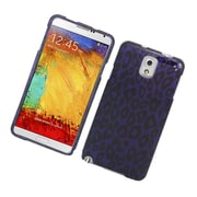 Insten Leopard Hard Cover Case For Samsung Galaxy Note 3 - Purple