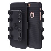 Insten Octopus Suction Holster Combo - Black For Apple iPhone 6 / 6s
