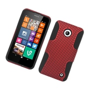 Insten Astronoot Hard Dual Layer TPU Case For Nokia Lumia 630/635 - Red