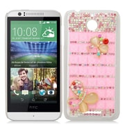 Insten Hard 3D Rhinestone Cover Case For HTC Desire 510 - Colorful
