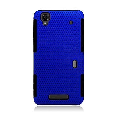 Insten Astronoot Hard Hybrid TPU Case For ZTE Max/Max+ - Blue/Black