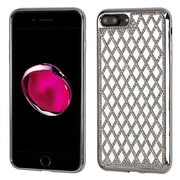 Insten Hard Bling TPU Case For Apple iPhone 7 Plus - Silver