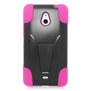 Insten Hard Dual Layer Plastic Hybrid Case For Nokia Lumia 1320 - Hot Pink