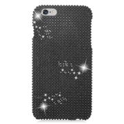 Insten Hard Diamante Case For Apple iPhone 6s Plus / 6 Plus - Black