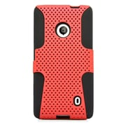 Insten Astronoot Hard Dual Layer TPU Case For Nokia Lumia 521 - Red/Black
