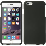 Insten Hard Rubberized Case for Apple iPhone 6s Plus / 6 Plus - Black