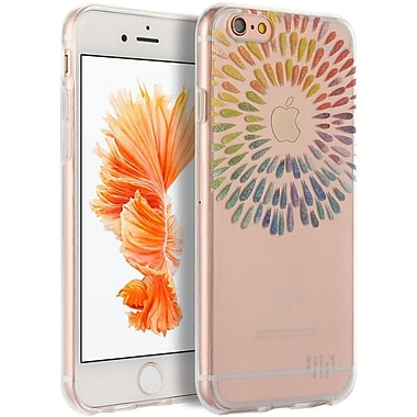 Insten TPU Water Color Imd Ultra Thin Skin Rubber Gel Case For Apple iPhone 6s Plus / 6 Plus - Band Of Color