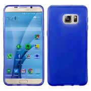 Insten Frosted TPU Gel Rubber Case For Samsung Galaxy S7 - Blue