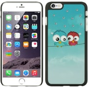 Insten Owl Hard Rubber Case for Apple iPhone 6s Plus / 6 Plus - Blue