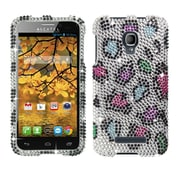 Insten Colorful Leopard Diamond Phone Case Hard Cover For ALCATEL One Touch Fierce 7024T
