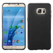 Insten Frosted Rubber Case For Samsung Galaxy S7 - Black