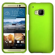 Insten Hard Rubber Cover Case For HTC One M9 - Neon Green