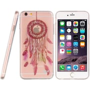 Insten TPU Water Color Imd Ultra Thin Skin Rubber Gel Case For Apple iPhone 6s Plus / 6 Plus - Dream Catcher