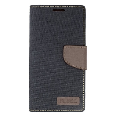 Insten Leather Wallet Case with Photo Display & Card Slot For Kyocera Hydro Wave - Black/Brown