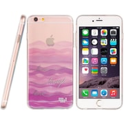 Insten TPU Water Color Imd Ultra Thin Skin Rubber Gel Case For Apple iPhone 6s Plus / 6 Plus - Live Laugh Love