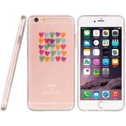 Insten TPU Water Color Imd Ultra Thin Skin Rubber Gel Case For Apple iPhone 6s Plus / 6 Plus - Love Me Always