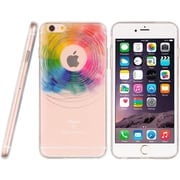 Insten TPU Water Color Imd Ultra Thin Skin Rubber Gel Case For Apple iPhone 6s Plus / 6 Plus - Love Wins