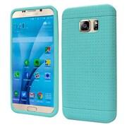 Insten Rugged Gel Rubber Case For Samsung Galaxy S7 - Teal