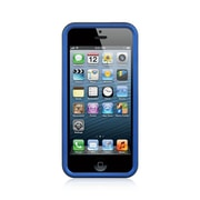 Insten Hard Rubber Coated Case For Apple iPhone SE / 5 / 5S - Blue