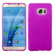 Insten Frosted TPU Gel Rubber Case For Samsung Galaxy S7 - Hot Pink