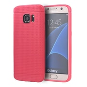 Insten Dots Gel Cover Case For Samsung Galaxy S7 - Hot Pink