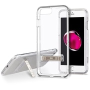 Insten Hard Hybrid Crystal Silicone Cover Case w/stand For Apple iPhone 7 Plus / 6s Plus / 6 Plus - Clear