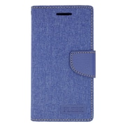 Insten Leather Wallet Case with Card slot & Photo Display For Kyocera Hydro Wave - Dark Blue