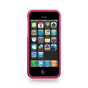 Insten Hard Rubber Coated Cover Case For Apple iPhone SE / 5 / 5S - Hot Pink